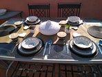 Dining Area Private Solarium & BBQ
