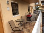 Large Main Floor Balcony W/BBQ