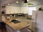 New Modern Kitchen W/Exotic Granite Counter Top
