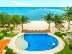 Riviera Maya Haciendas, Villa Nautica - Swimming Pool, Terrace, Chaises Lounges, Beachside