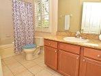Bedroom 2 bathroom with Jacuzzi tub
