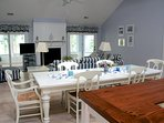 Open, airy, bright, and perfect for entertaining!