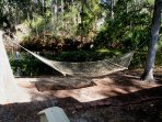 Take a nap in the hammock.