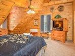 Bedroom #2 - Master Suite/King Bed (upper level)