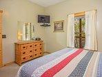Bedroom #3 - King Bed 32' LED TV (lower level)