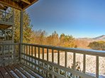 This home is situated right on the mountains with beautiful views of Grandfather Mountain.