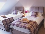 The beautiful Berriedale Bedroom can be set up as either 1 Superking or 2 Full Size Singles