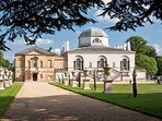 Historic Chiswick House and Gardens  less than 5 minutes walk.