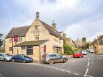 The well regarded village pub is just a short walk away