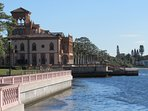 The beautiful Ca' d'Zan. The winter home of John Ringling. Located in Sarasota.