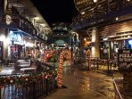 Downtown Gatlinburg during Christmas