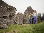 Explore the history of 'Castle' Derg with adjoining river walks and children's playground
