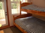 There are a number of options for bedding configurations like bunks, so please let us know your preference.