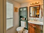 An en-suite bathroom leads from the master bedroom.