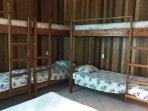 Bunk beds in room