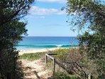 Path to Werri Beach - 2 mins walk from house