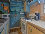 You'll look forward to preparing meals in the well-equipped kitchen.