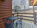 Savor your morning coffee on the deck.