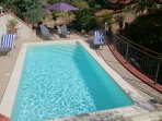 Catalan style Villa Mathilde with beautiful gardens, pool, parking and free wifi