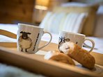 Breakfast in bed perhaps, treat yourself you are on Holiday afterall