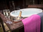 Special occasions or just to celebrate lifes wonders, your private hot tub at Artlegarth is bliss