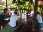 Enjoy a yoga session on-site.