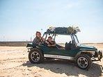 Take an off-road trip along the sandy beach.