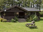 98m2 each of our Birds log cabins is as large as many family homes, built from solid pine