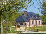 4 bedroom Villa in Sainte-Marguerite-sur-Fauville, Normandy, France : ref 544205