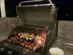 enjoy BBQ on our terasse  with your beloved ones