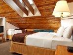 Enjoy a deep sleep in this cozy loft