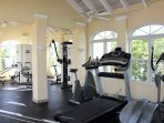 Fitness facility available to our guests at our other property Reef Residences