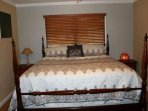 Your guests will love this second bedroom and its intimate touches.