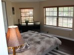 The third bedroom features tons of natural lighting to brighten your day.