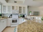Fully Stocked and Spacious Kitchen w/Granite Counter Tops
