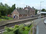 Easy travel to town. 7 minutes walk to the station from The Douglas