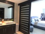 master bedroom / bathroom