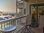 You'll have wonderful views from the perch of your private ocean-facing balcony!