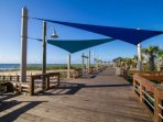 Take a evening stroll on the Carolina Beach Boardwalk which is very close to the Blue Heron Nest.