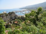 View over Tropea Harbour