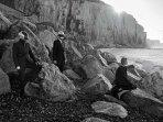 Le groupe Daft punk sur la plage de Ault
