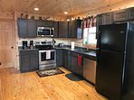 Spacious fully equipped kitchen with all brand new appliances