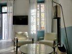 Appartement 3 pieces + terrasse, très design en hyper centre Cannes