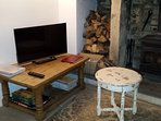 For your entertainment there isSmart TV, board games, magazines or just watch the wood burning stove