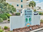 St. Martin Beachwalk Villas is right across the street from Big Kahunas water park