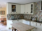 The lovely big kitchen