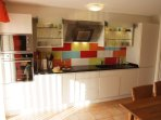 New renovated kitchen  equipped with all you need to prepare meals and enjoy your holiday.