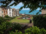 Lovely view of the sea from Seaton Gardens