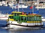 3 minute walk to ferry wharf