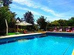 Combiné PIN/CIGALE,  La piscine  & bains de soleil.